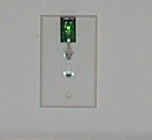TPL3 digital probe in wall plate